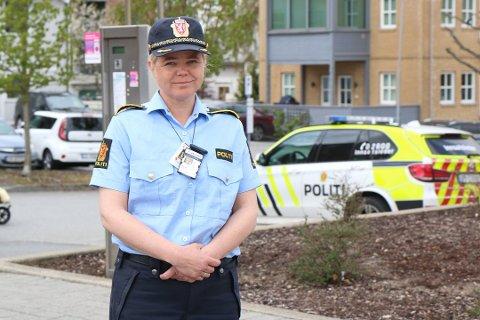 POLITI: Forebyggende avsnittsleder ved Jærens lensmannskontor, Elfrid Vestbø, sier at politiet ser en økning blant ungdomsvold, og at jenter er mer involvert enn tidligere.