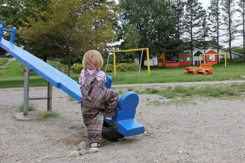 BARNEHAGE: Stadig fleire foreldre i Hå vel barnehage for ungane sine.
