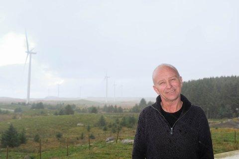 POSITIV: Plassjef hos Høg-Jæren energipark, Kenneth Puntervold vil fortsatt bidra med frivllige tilskudd til Hå kommune.