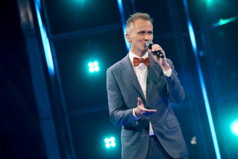 TENOR FRÅ VIGRESTAD: Roald Haarr i aksjon laurdag kveld.