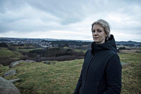VIL HA FOLKET MED: Ingrid Fiskaa (SV) etterlyser informasjon om kva som skjer på Kalberg, slik at folk kan vera med å påverka før alt er vedtatt.