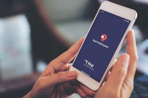 APP: Smittestopp er tilgjengelig for nedlasting på Google Play og i Apples App Store.