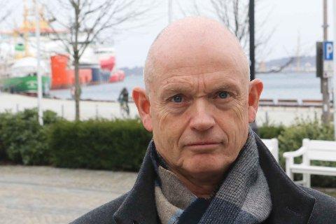 TØFF TID: IKM-gründer og eigar Ståle Kyllingstad er skremt over utsikter til investeringskutt på over 100 milliardar på norsk sokkel dei neste to åra. Oljeservicebransjen ber om utsett skatt for kundane deira - oljeselskapa - slik at det blir meir attraktivt å investera.