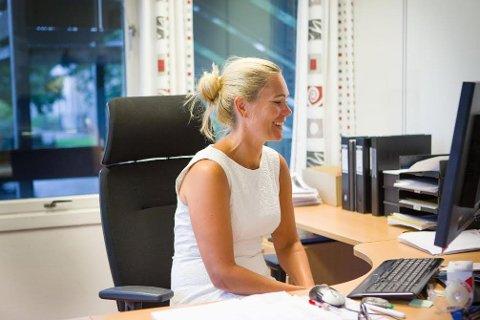 SJEFSSKIFTE: Wendy Finnerud ser fram til å byrja som kommunalsjef for helse- og velferd i Klepp. - Eg veit at det er god arbeidsmoral og eit godt miljø, og det er det viktigaste. Eg ser også fram til å bli kjent med organisasjonen, seier ho.