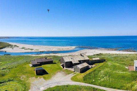 HØY PRIS: Denne eiendommen ved Orrestranden ble solgt for 12 millioner kroner.