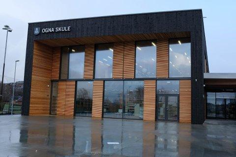 OGNA SKULE: Ogna skule vart offisielt opna 3. januar 2018.