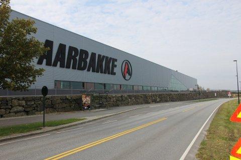 KÅRINGEN AVGJORT: Aarbakke AS på Bryne var en av tre finalister i konkurransen om å bli landets smarteste industribedrift.