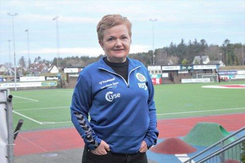 VIL HA MEIR: Toini Underhaug vil gjerne at Jærbladet skal skriva meir om alt det gode, frivillige arbeidet som blir gjort for barn og unge.