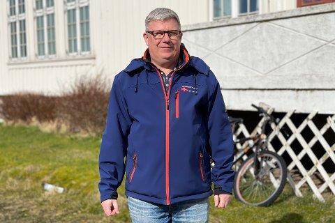 VEMODIG: Mottaksleder Svein Arne Corneliussen håper mottaket kan åpnes igjen en gang i fremtiden.