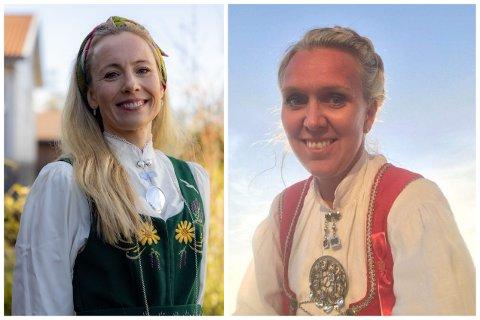 SAMAN: Dette året har 17. mai komiteane på Orstad og Frøyland slått seg saman for å lage ei felles digital feiring. Frå venstre Anne Friestad, Orstad, og Kirsten Kverneland, Frøyland.