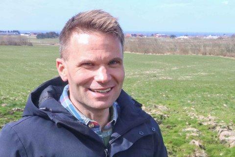 VIL HA TALETID: Anders Braut Ueland (Sp) trur kommunestyremøta blir for spesielt interesserte når dei varar i fire-fem timar.