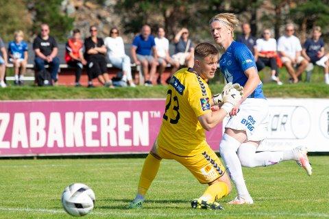 TALENT: 17 år gamle Albert Braut Tjåland scoret kampens siste mål, da Molde slo Spjelkavik ut av cupens første runde.