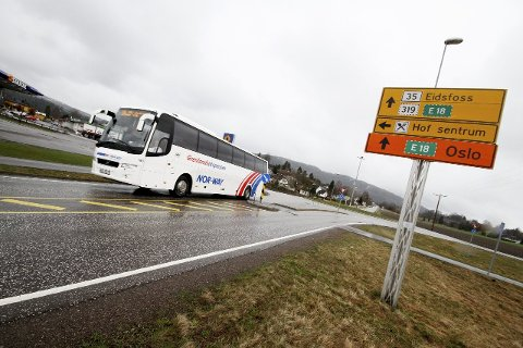 Det blir gitt 29 millioner kroner til ekstra vedlikehold av fylkesveiene i Vestfold og Telemark.