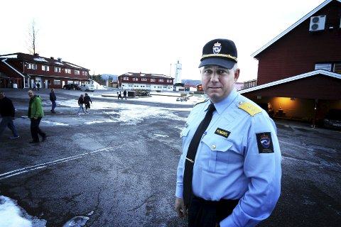 Trygt: Ny leder av Hof fengsel, Eirik Bergstedt, vil ha et fengsel som er trygt for både innsatte og ansatte.                      foto: Jarl Rehn-Erichsen