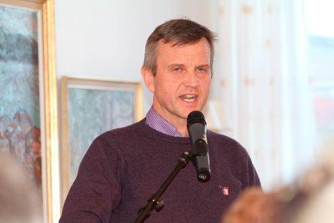 KU-LEDER: Stig Atle Vange leder kontrollutvalget i Holmestrand.