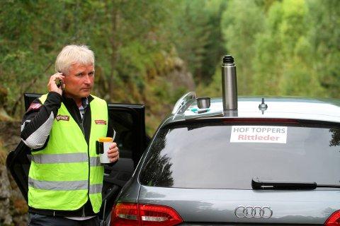 Tom Arne Akerholt: – Jeg er veldig fornøyd, dette ser lyst ut for fremtiden til Hof Toppers, sier han. (Arkivfoto)