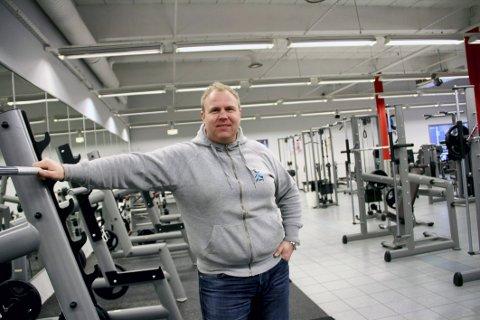 BEST RESULTAT: Bjørnar Eriksen i Sporty24 oppnår best økonomisk resultat av Holmestrands treningssenterledere.