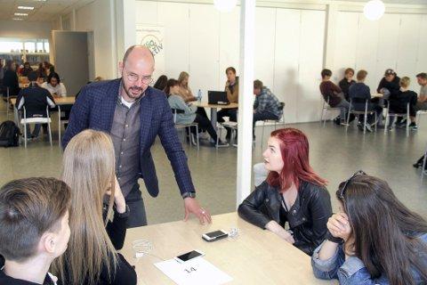 SPENT: Jon Løvaas, som har jobbet tett med ungdomsrådet i denne saken, håper politikerne vil be om ytterligere ungdomsklubb-utredninger.