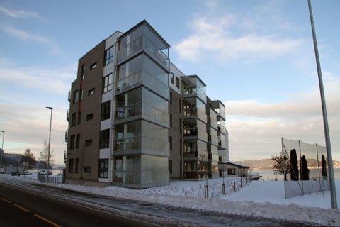 INNFLYTTING: 5. desember sto overtakelsen for 17 leiligheter i Strandholmen 2.