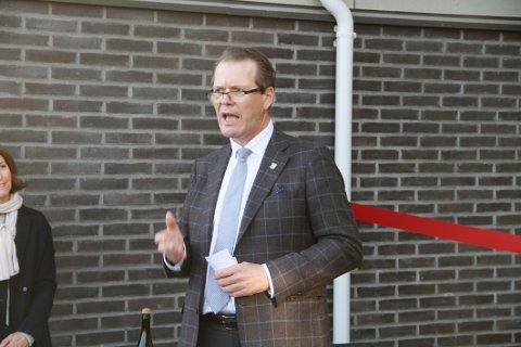 Ordfører Alf Johan Svele er å finne på 51. plass.