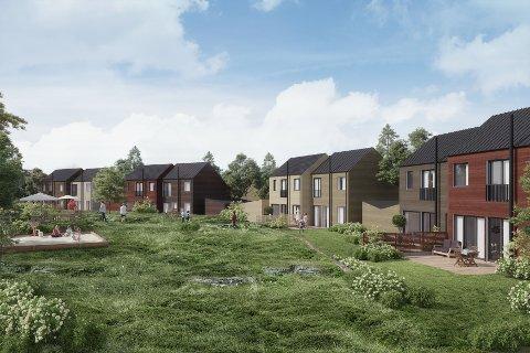 ATTRAKTIVT: 150 står på interessentlista for å sikre seg bolig i Prestegårdshagen.