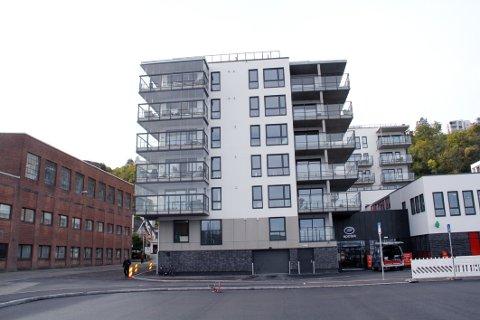 FERDIG INNFLYTTET: 22 leiligheter i Weidemanns gate 5 fikk nye beboere i september.