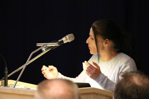 Patricia Eriksen, kommunestyrerepresentant (Uavh.) i Sande.