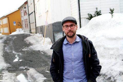 GRÜNDER: Filmskaper Johann Gustavsson er blant de 15 som startet nytt foretak i Holmestrand i mars.