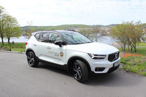 SÆREGET DESIGN: Det noe dristige designet på nye Volvo XC40 er nok gjort med hensikt for at bilen skal skille seg ut fra XC60 og XC90.
