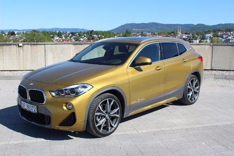 VAKKER OG VELKJØRENDE: Nye X2 er en sporty kupé-SUV som skal fylle gapet mellom BMW X1 og X3.