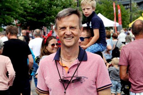 FESTIVALSJEF: Stig Atle Vange konstaterer at årets kulturfestival gikk som planlagt.