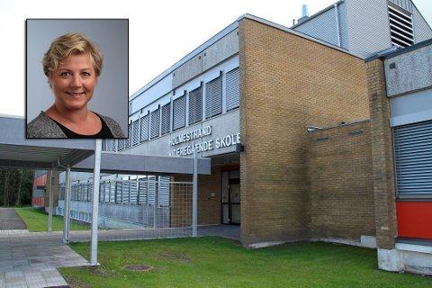 NY REKTOR: Camilla Reidunsdatter Andreassen (45) er ny rektor ved Holmestrand videregående skole.