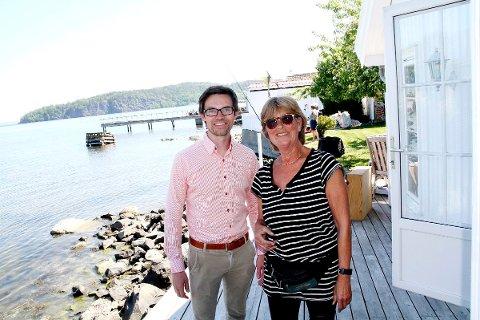 PRISREKORD: Det ble prisrekord for eneboligsalg under fjellet da Marie Kürstein solgte sin eiendom i Hagemannsveien 3. Megler Stein Erik Lie i Proaktiv sto for salget.
