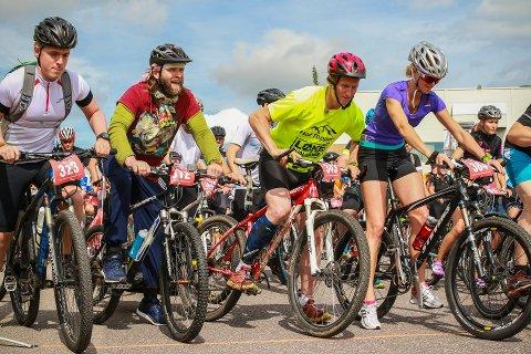 SNART KLART FOR START: Det er bare å starte oppvarmingen og finne fram sykkel og sykkelhjelm. Dagene fram til 11 August nærmer seg meg stormskritt.