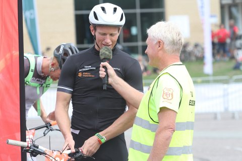 Løpsleder Tom Arne Akerholt og Frank Løke er begge klare for årets Hof Toppers til helgen.
