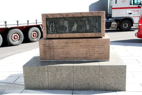 OMSTRIDT: Mange har meninger rundt hvor krigsminnesmerket burde stå.