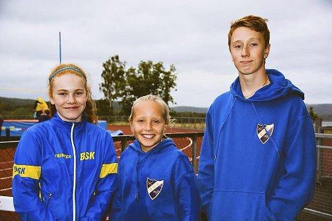 Bilde og fornøyde: Her i Botne SK er det mange ungdommer som trives med sin friidrett. Foto: Botne SK Friidrett