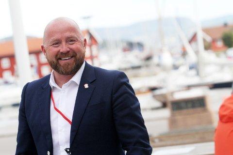 Arbeidsglede: HR-sjef Holmestrand kommune, Roy-Erik Steinhaug Mårtensson, er glad for at de har fått sykefraværet på vei nedover.