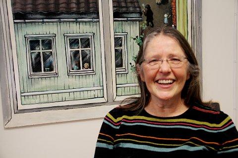 PÅ LETING: Kultursjef Gertruud Kunst leter etter ny kulturarbeider til to av nye Holmestrand kommunes fritidsklubber.