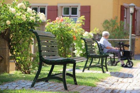 ELDSTE PÅ SYKEHJEM: I Holmestrand kommune bor 8,2 prosent av alle over åtti år på sykehjem. Snittet for hele Norge er 12,4 prosent. Illustrasjonsfoto