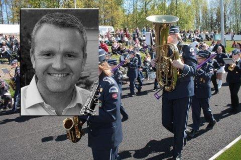 NY LEDER: Bjarte Kleppe Riseng er ny leder for Holmestrand skolekorps.