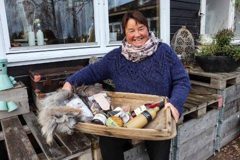 STARTER OPP: Nina Eide starter Reko-ring i Holmestrand. Hun har stort nettverk og kjenner mange ulike produsenter.