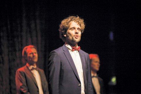 FORBILDE: Jan-Tore Saltnes forteller at han så opp til Jahn Teigen da han vokste opp. Han og Nordic Tenors har også sunget flere av Teigens sanger på konserter.