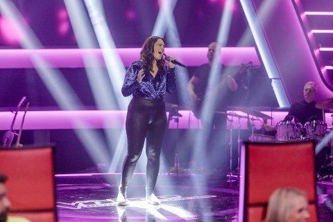 Gikk videre: Anniken Kolstad fra Eidsfoss gikk videre i The Voice på TV2.