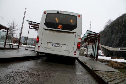 BIOGASS: Ifølge kontrakten skal minimum 70 prosent av ruteproduksjonen i nordre Vestfold benytte biogass som drivstoff fra 2020.