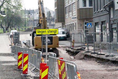 TAR TID: 26. juni er nå datoen for når dette veistykket skal åpnes for trafikk igjen.