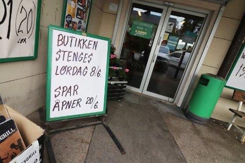 Lørdag er siste mulighet til å handle i den gamle Joker-butikken i Sundbyfoss.