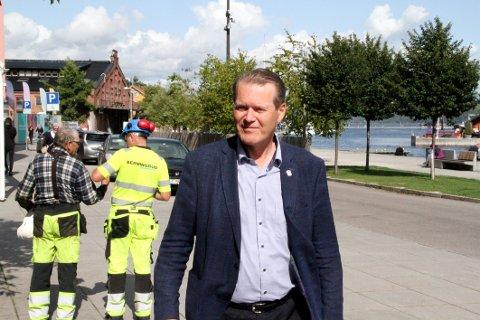 ORDFØRER? Alf Johan Svele (H).