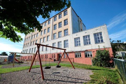 Gausetangen skole: Blir til Gausetangen borettslag og 32 leiligheter. Foto: pål Nordby