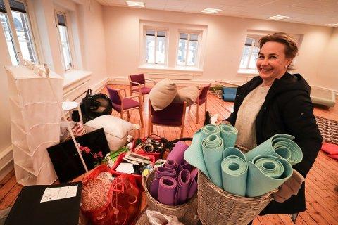 ET NYTT KAPITTEL: Ved starten av 2019 var Siw Urå fullt opptatt med å flytte Danseløven fra sine gamle lokaler i Uni-kvartalet til nye, midlertidig lokaler på Nedre Gausen som lenge har stått tomme. Når 200 danseløver flyttet inn ble det endret. Men nå nærmer kontrakten seg sin slutt.